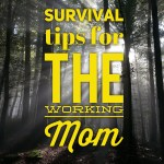 10 Survival Tips for the Working Mom