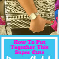How To Put Together This Super Cute Diaper Clutch