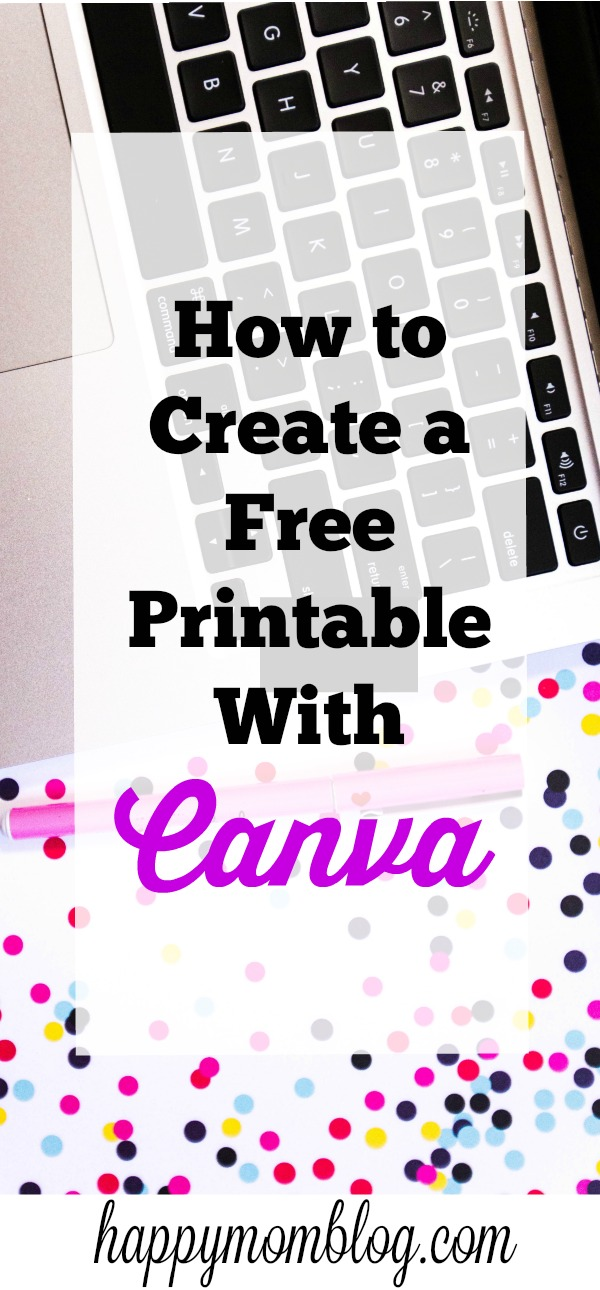How to Create a Free Printable with Canva
