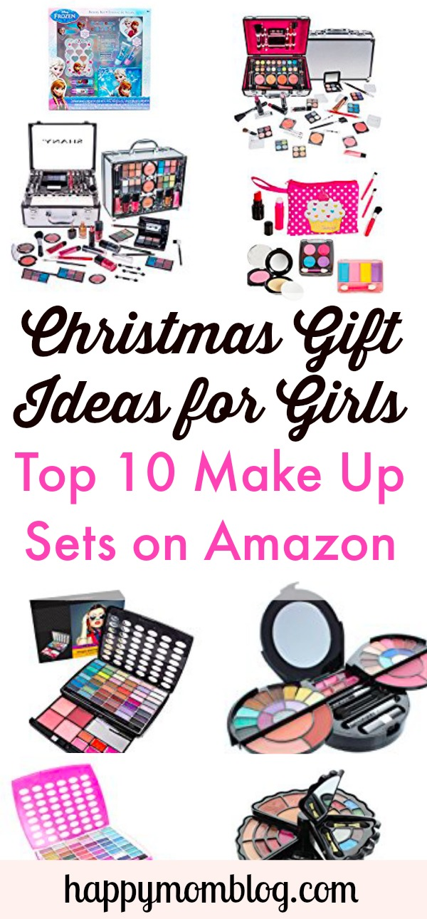 Stumped on what to get your daughter or niece for Christmas? Check out the top 10 makeup sets on Amazon!