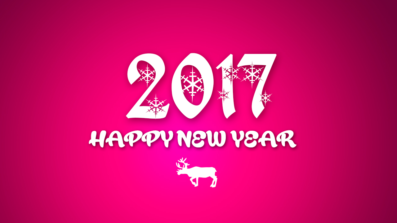 pink new year wallpapers