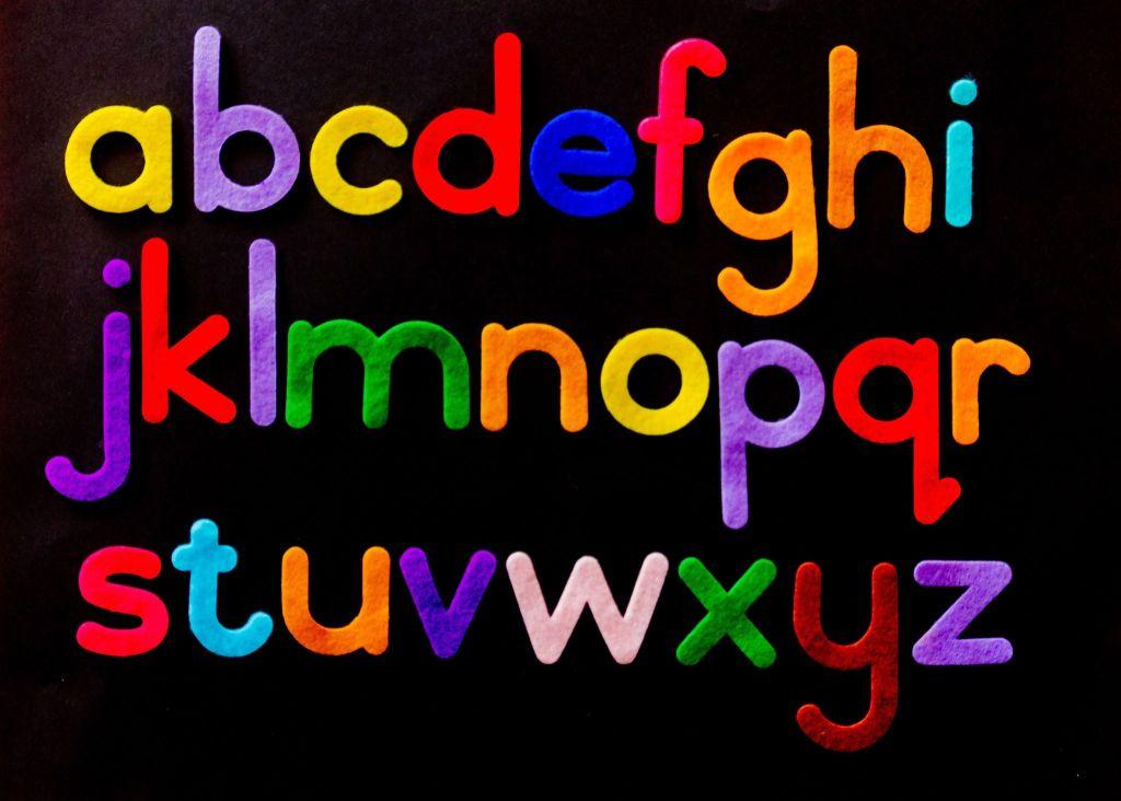 Lettres de l'alphabet - apprendre a ecrire pour enfants dyslexiques