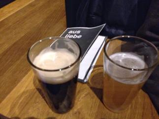 Biere vom Hahn