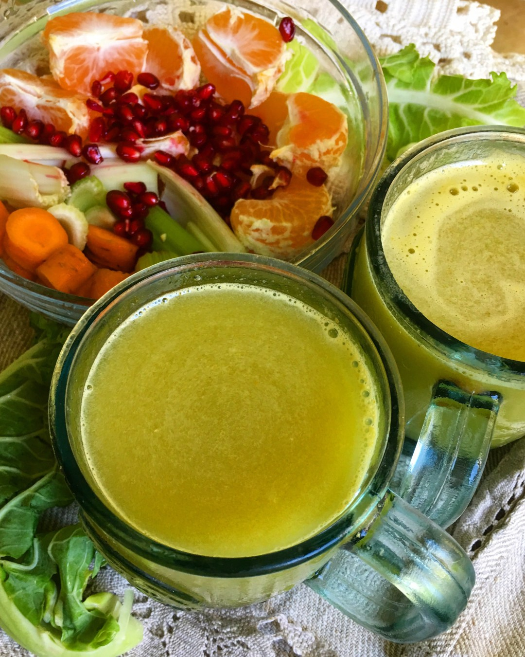 Homemade juices that taste fantastic