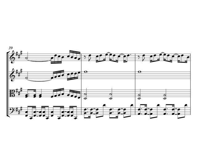 The Rembrandts Theme Song From Friends Sheet Music Or String Quartet I Ll