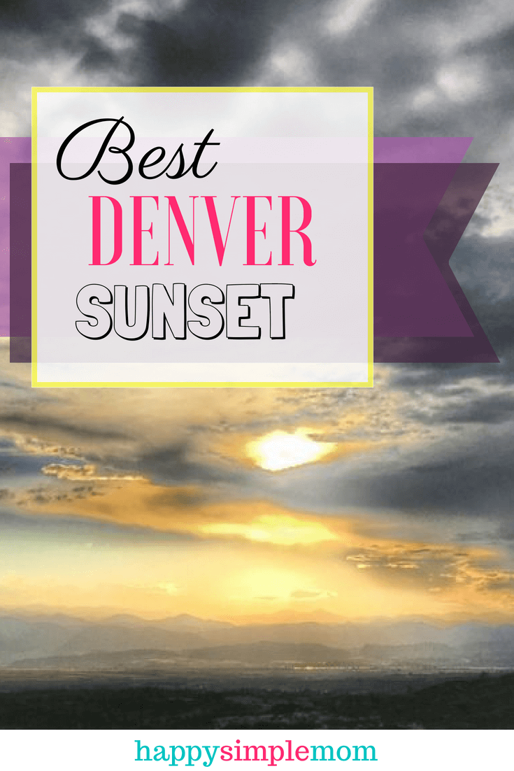 Best Place to See the Denver Sunset, Daniels Park, Denver Sunset