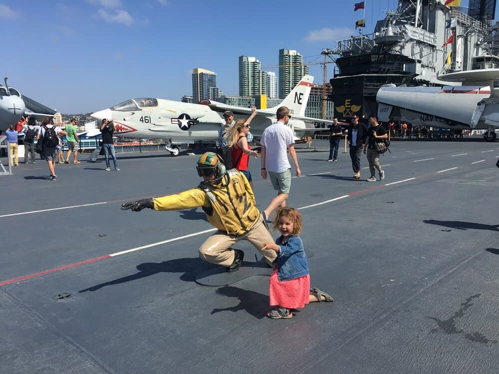 San Diego USS Midway Aircraft Carrier