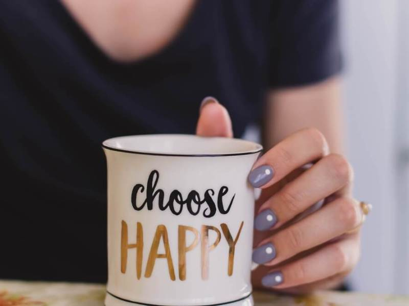 Stop beating yourself up and choose happy.