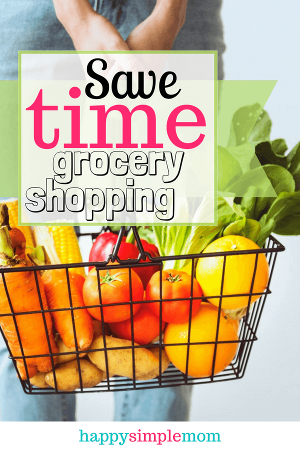 Save Time Grocery Shopping