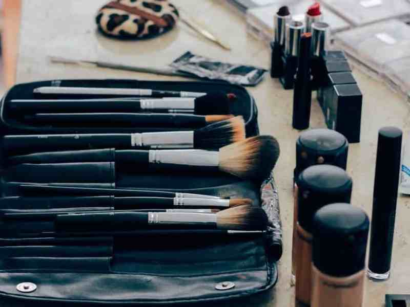 Declutter your bathroom, including your make-up storage areas.