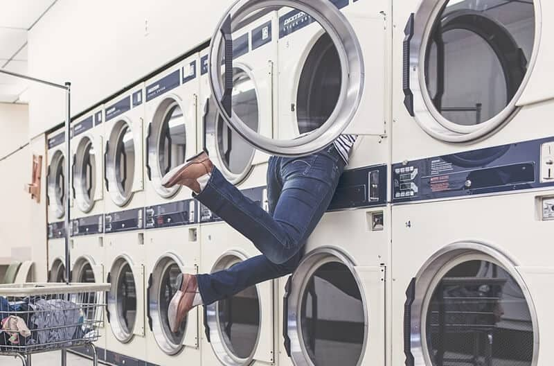 Laundry and other chores that suck you in.