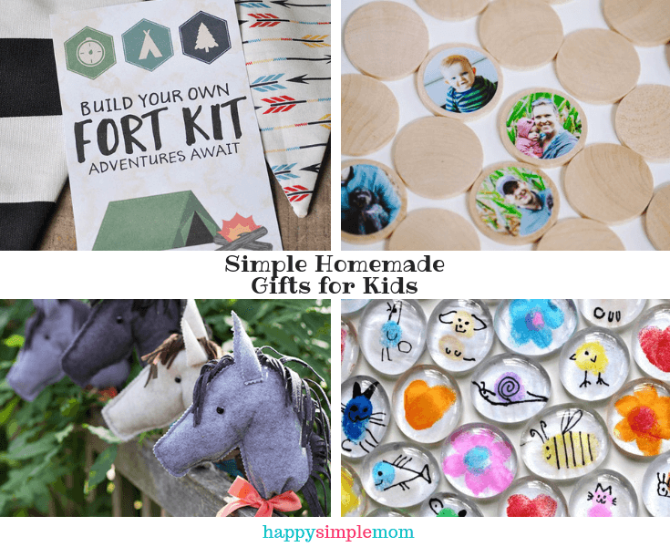 Gifts for Minimalists: Homemade gifts for kids