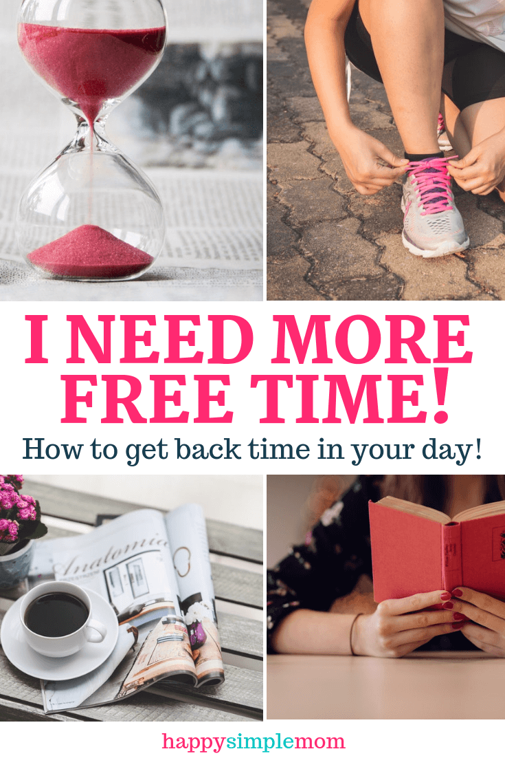 Get back more free time in your day to do the things you love!