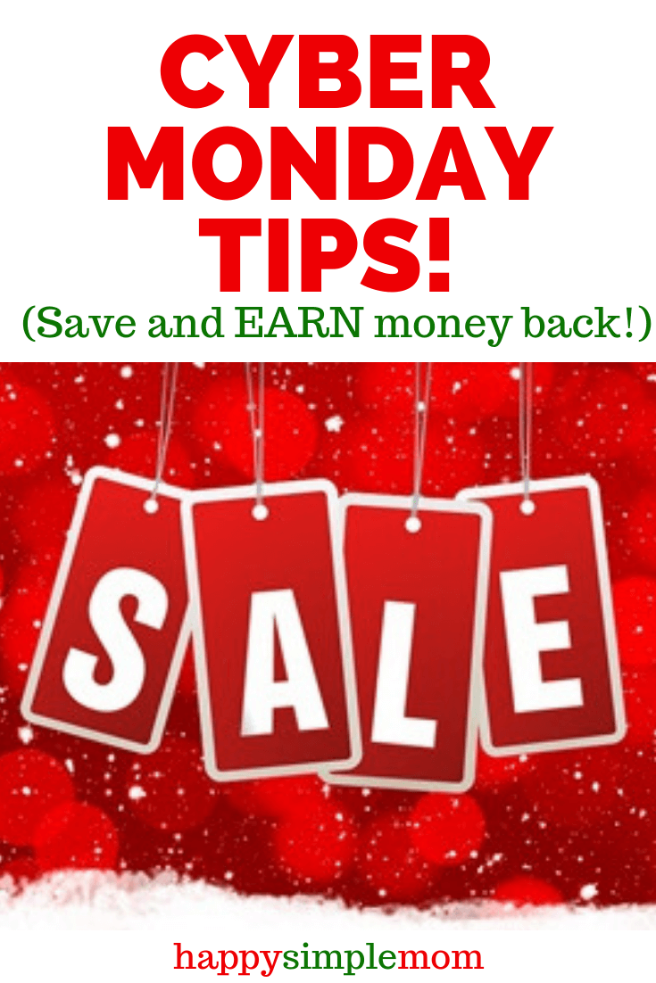 Cyber Monday tips that help you earn back money and save money!