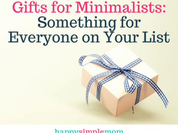 Gifts for Minimalists: Something for Everyone on Your List