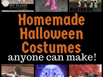 Simple homemade Halloween costume ideas for kids