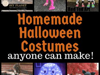 Simple homemade Halloween costume ideas for kids