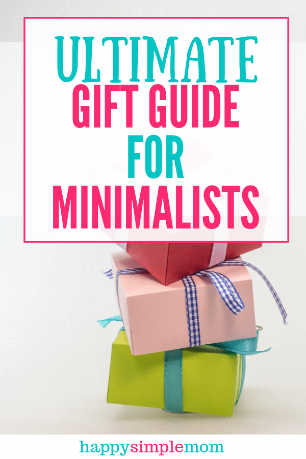 The ultimate gift guide for minimalists. Find something for everyone on your list.