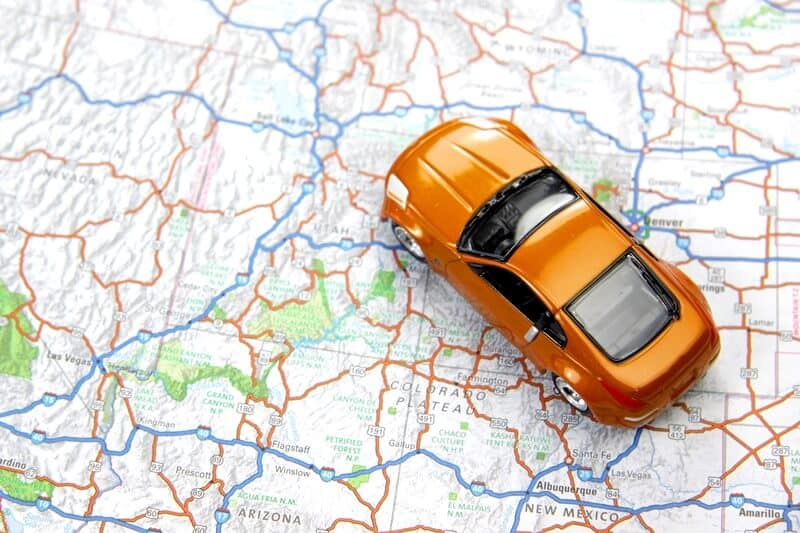 Keep your kids busy by teaching them how to read a map on a long car trip.