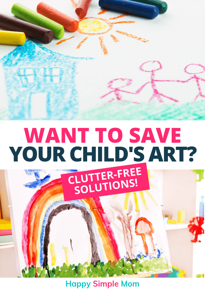 Save your child's artwork.