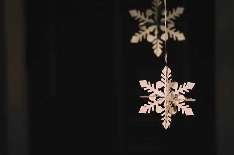 Snowflake Christmas craft