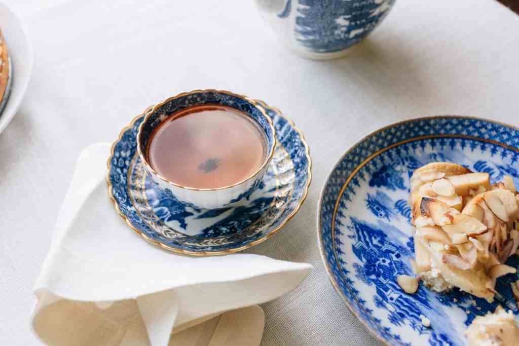 Old china dishes being reused in the home