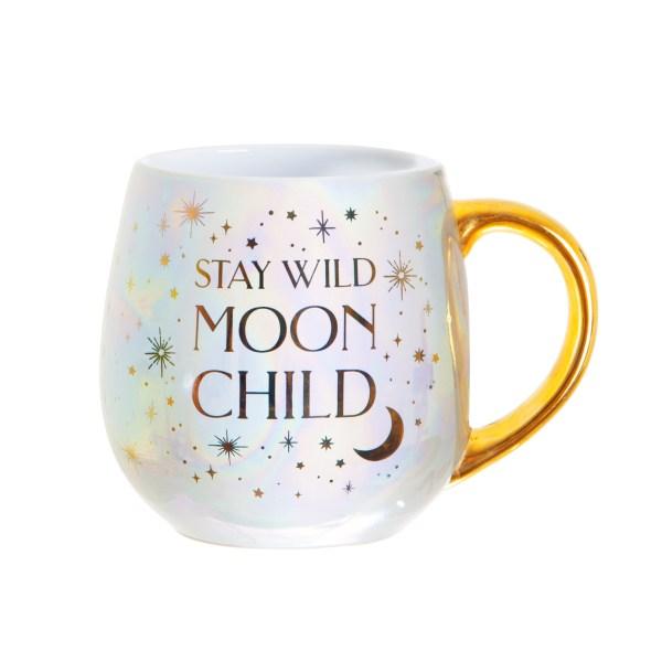 tasse mug thé teatime stay wild moon child lune enfant sauvage lunaire galaxie pastel irisé sorcière lyon happy sisyphe concept store