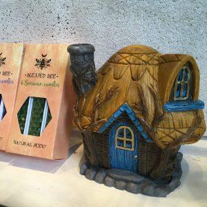 Chaumière de fée brûle encens cottage Happy Sisyphe Boutique Lyon