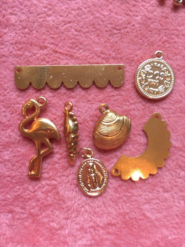 Pendentif doré à l'or fin Bar à Bijoux Happy Sisyphe Boutique Lyon