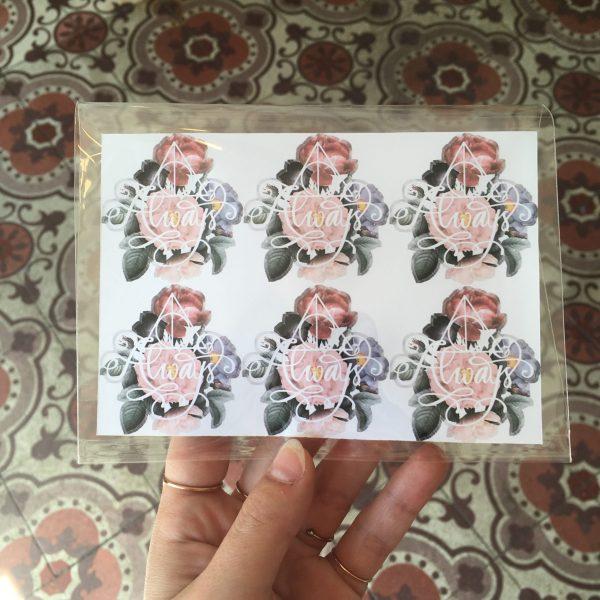 happy sisyphe lyon boutique salon de thé concept store harry potter potterhead lyonnais always reliques de la mort hermione ron poudlard la grande salle rogue stickers autocollant