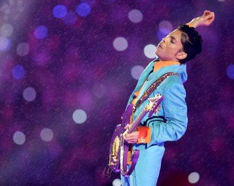 Prince worshipping Jesus, maybe