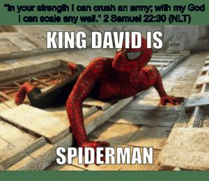 king-david-spiderman