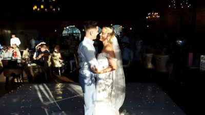 First Dance Mr and Mrs Williams. Carriage Oswestry - Happy Sounds Mobile Disco
