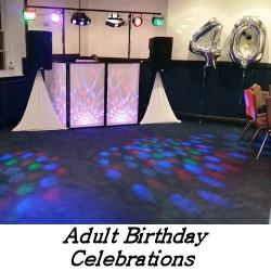 Adult Birthday Celebrations - Happy Sounds Mobile Disco