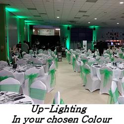 Uplighting - Up Lighting - Happy Sounds Mobile Disco