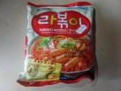 "#1318: Paldo ""Rabokki Noodle"" (Stir Fried Noodle with Korean Hot & Spicy Soup Base)"