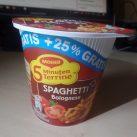 "#1527: Maggi 5 Minuten Terrine ""Spaghetti Bolognese"" (+25 % Gratis)"