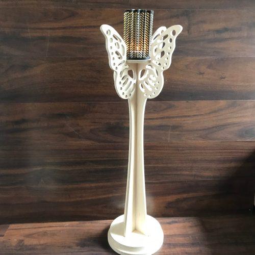 Vlinder kandelaar 90 cm hoog