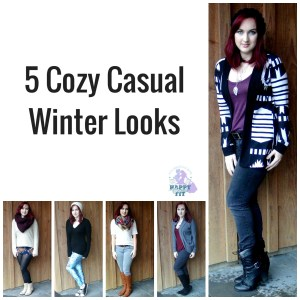 5 Cozy Casual Winter fashion looks for fall and winter style Happy Stylish Fit Lifestyle Blog