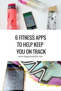 Check out these 6 fitness apps for android and apple that will help keep you on track.