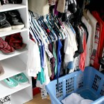 Logo Shirts and Jeans Closet Organization Happy Stylish Fit