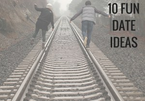 10 fun date ideas. Not your most conventional list. Get out of the house and go on a fun adventurous date.