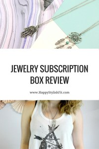 International jewelry subsctiption box. Check out what you get with this Trinity Box review.