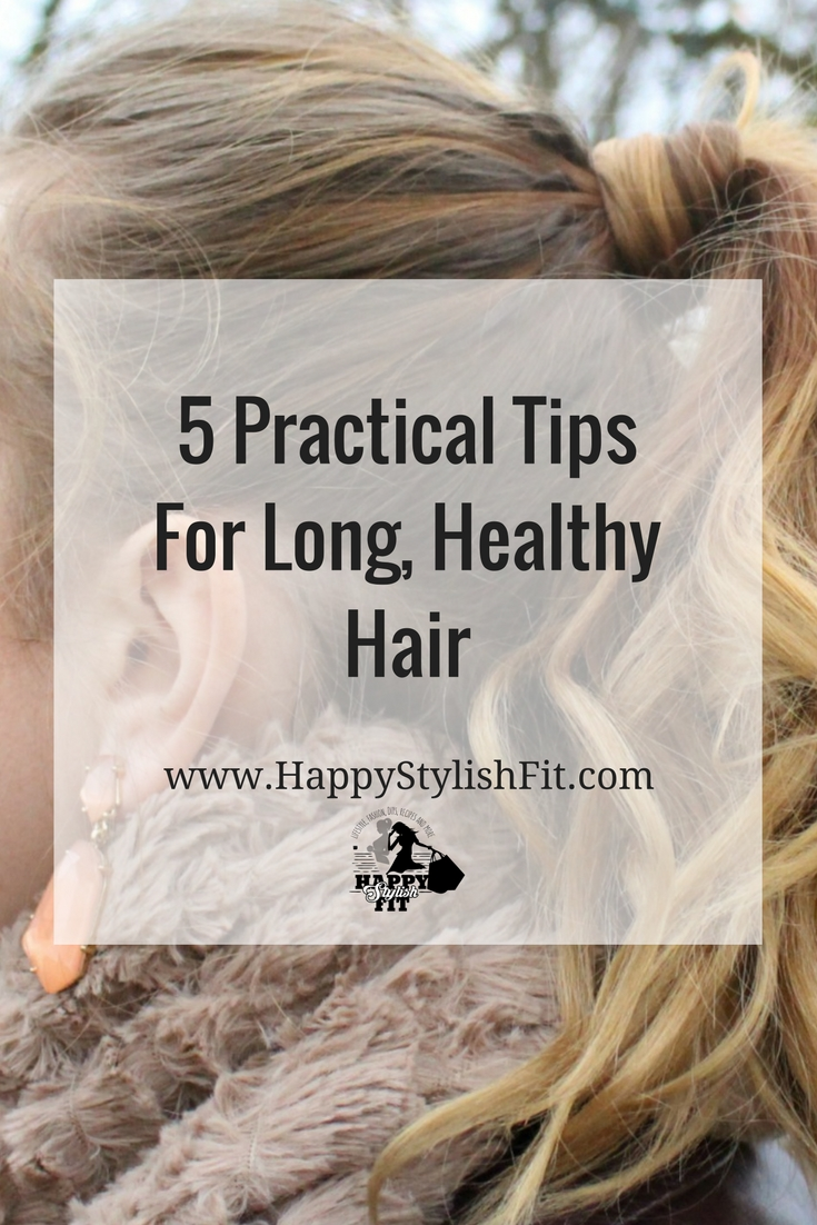 Check out these 5 tried and true, practical tips that will help you keep your hair nice and healthy.