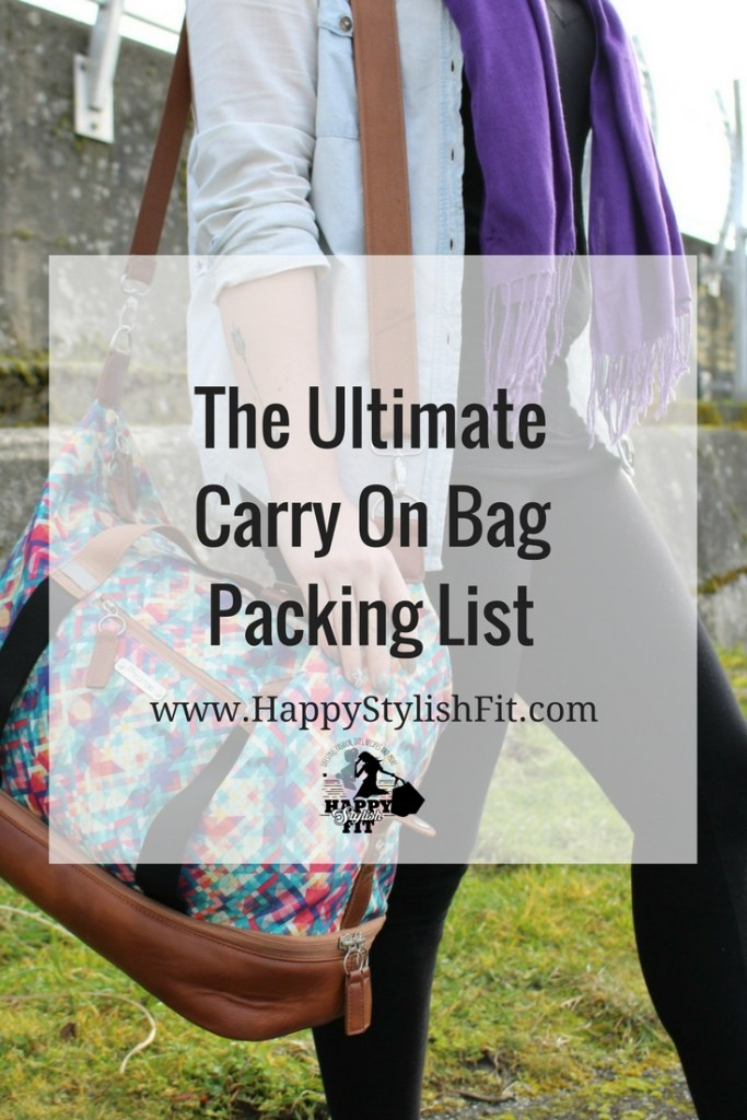 What you need to pack in your carry on bag for a worry free flight.
