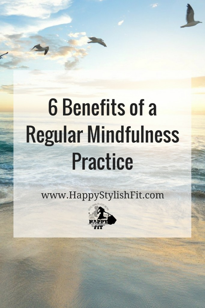 Learn more about 6 benefits of mindfulness: lower stress, reduce anxiety, improve concentration and focus, improve how you process emotions, sleep better, and improve your overall happiness.