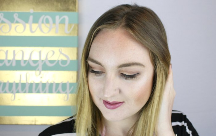 Spring date night makeup tutorial using all 100% cruelty free products, and mostly all natural products.
