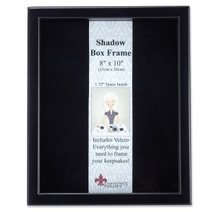 Shdow box for memory keepsakes