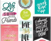 Big Ideas Life Quotes Stickers