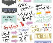 The Happy Planner Fitness Stickers
